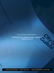 Certification in Barista Skills