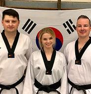 Trainer-Team vom Polizeisportverein Union Neumünster Taekwondo