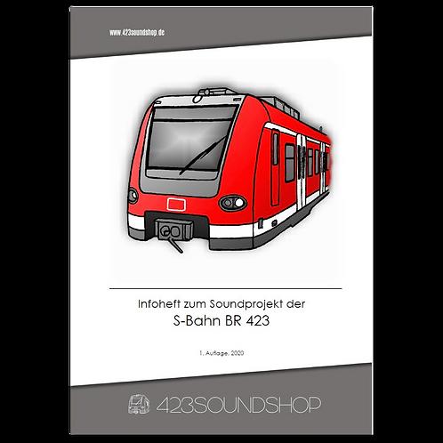 Infoheft - BR 423