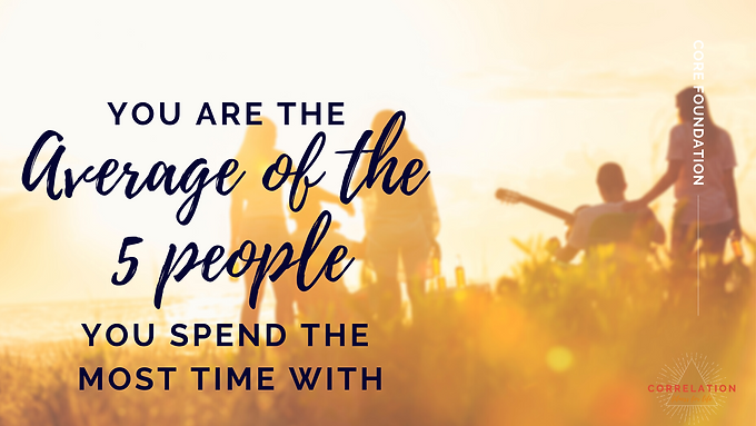 06 You are the Average of the People you Spend Time with