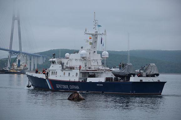 «Светляки» Восточной верфи успешно завершили первый выход в море в рамках заводских ходовых испытаний