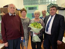 60 лет стажа: в День кораблестроителя главного метролога Восточной верфи поздравили с юбилеем