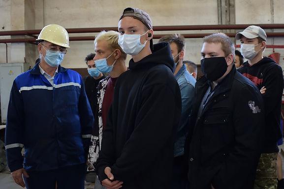 Студенты-сварщики и кораблестроители посетили «Восточную верфь» в рамках акции «Неделя без турникетов»