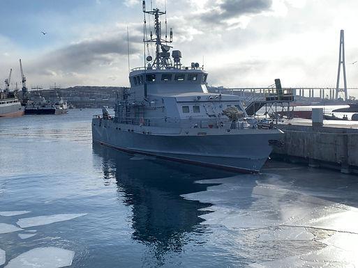 «Катер на Новый год» — Восточная верфь выполнила заказ на строительство противодиверсионного катера для ТОФ