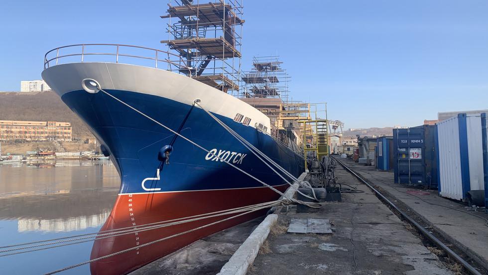 Краболовное судно проекта 03141