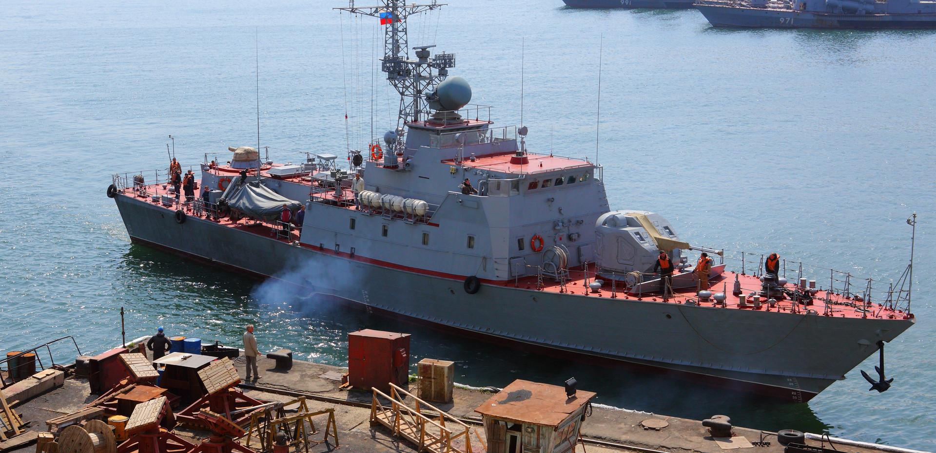 Пограничные сторожевые корабли проекта 10410- «Светляк»
