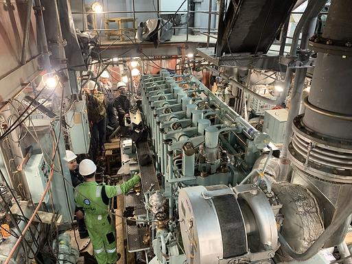 Восточная верфь запустила главный двигатель первого дальневосточного краболова