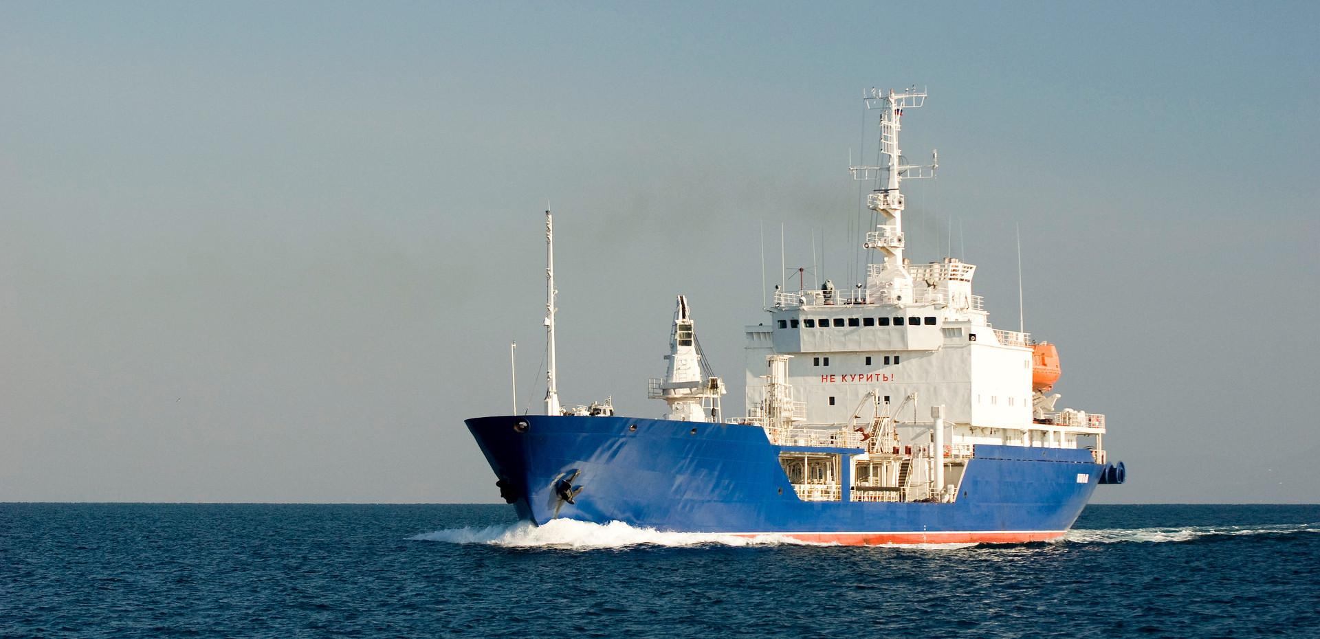 "Морской танкер ледового класса проекта 15010 ""Ишим"""