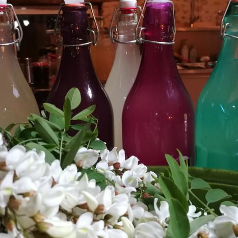 fleurs de sureau pour champagne O petit