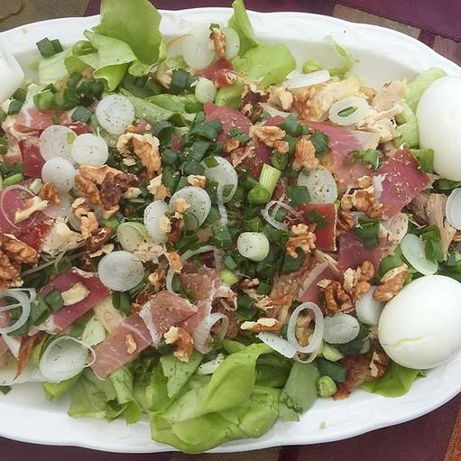 Salade composée du jardin O petit Bonheur