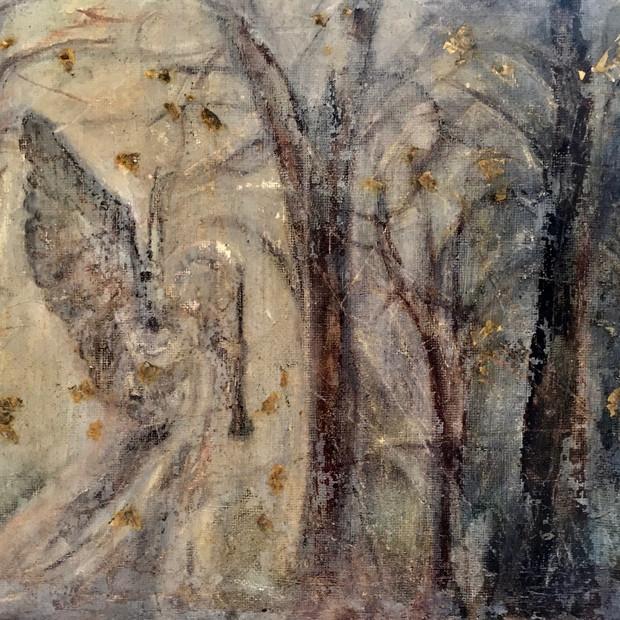 Winter Cemetary Angel
