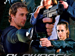 "The pressure is on for Robert Yahnke's action flick ""Blowback"""