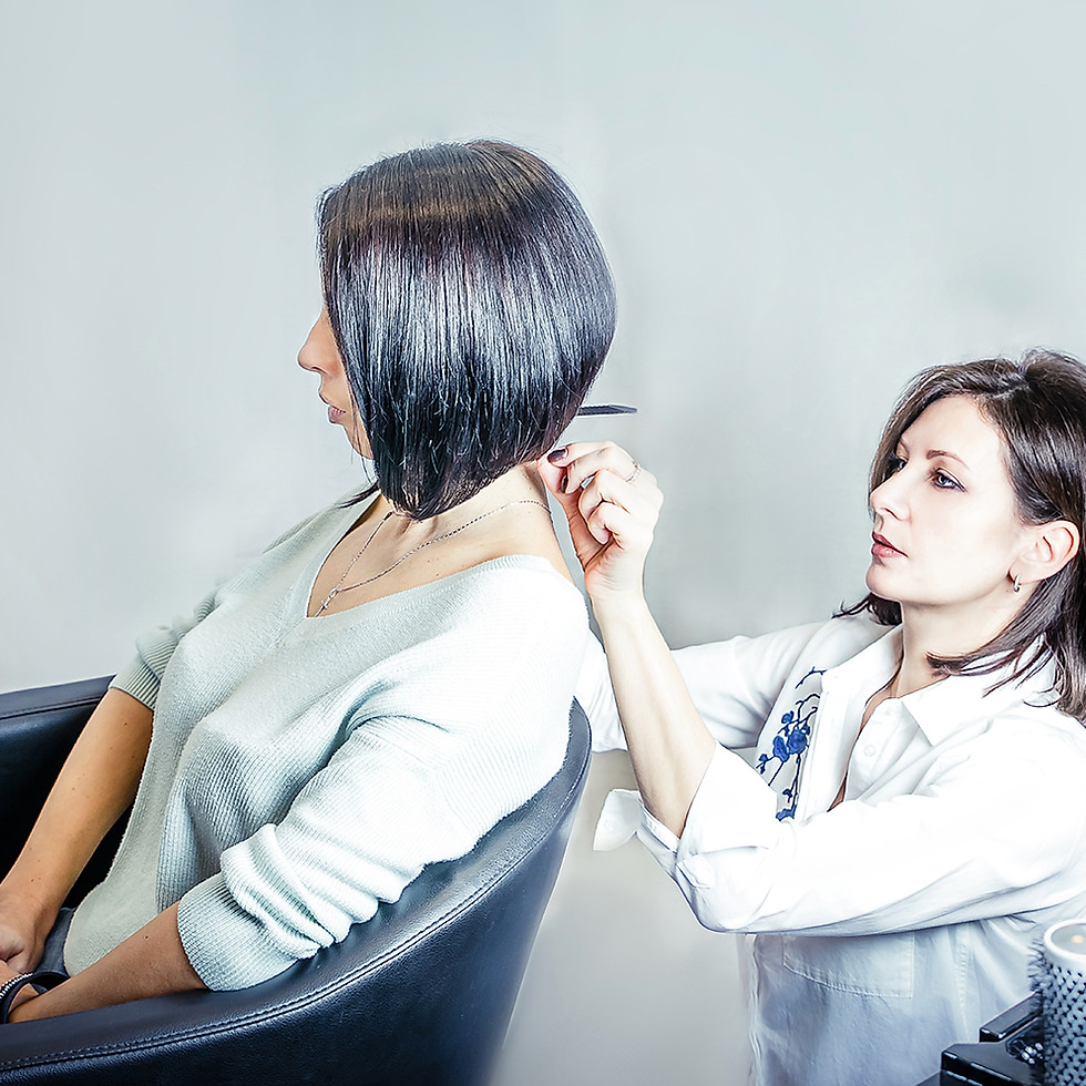 Private Hair Salon - lifestyle photography