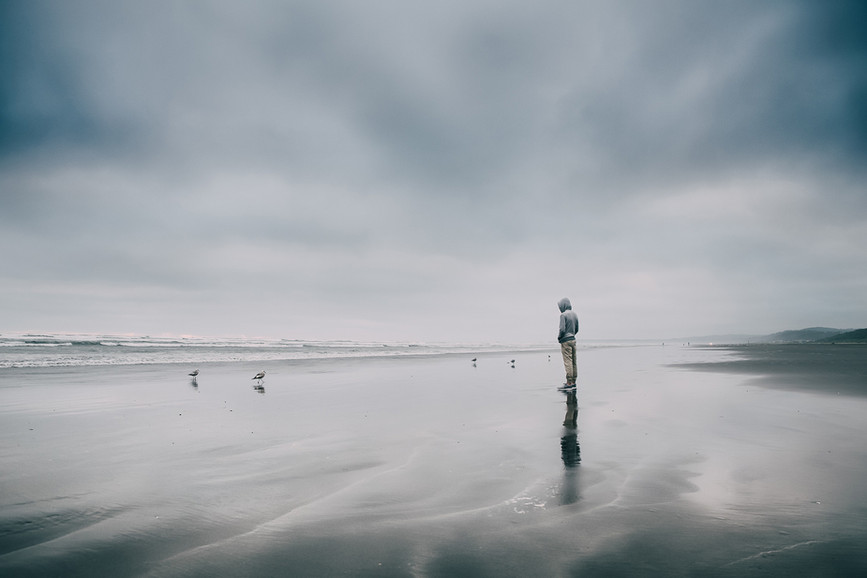 Sasha_Primak_Self reflection by the ocea