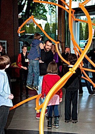 """Vancouver Biennale art exhibition at the International Pavilion &""""Artists for Kids"""" with the featuredartists"""