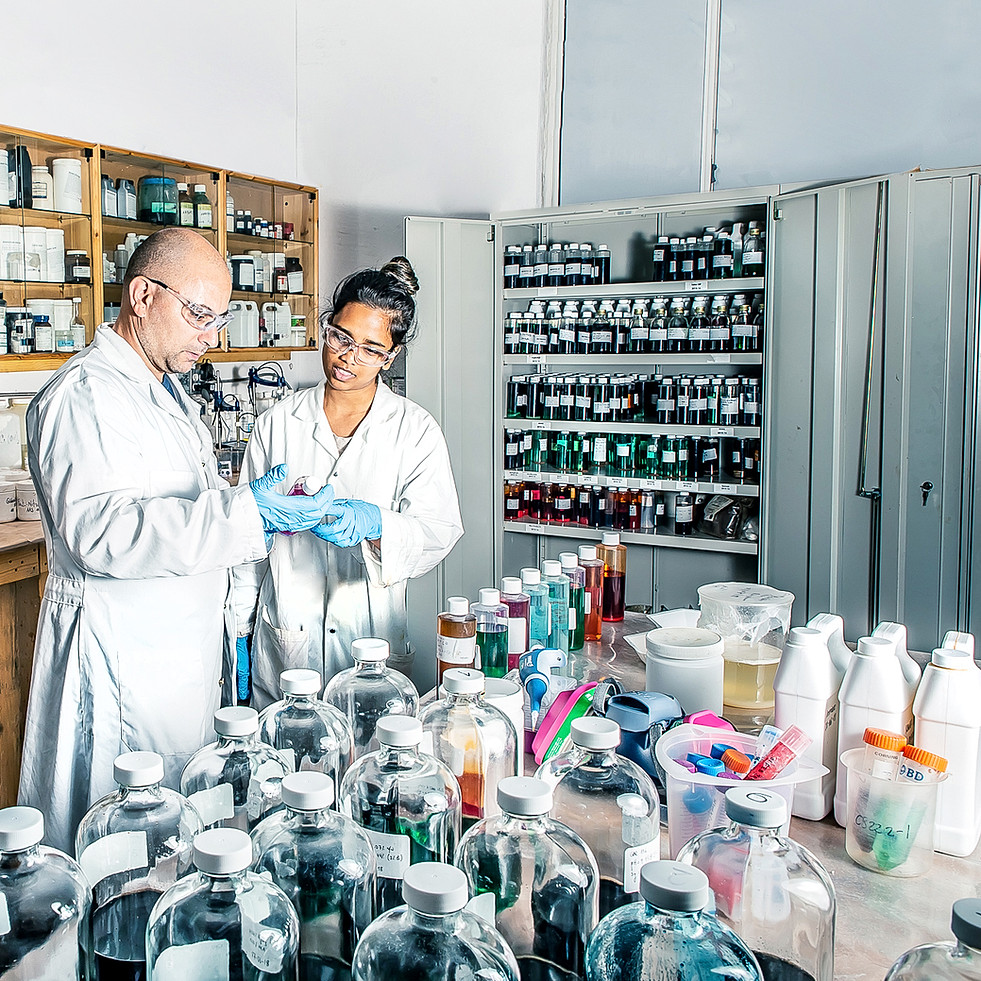 Laboratories and the greenhouse for the BC Export Award 2018 application