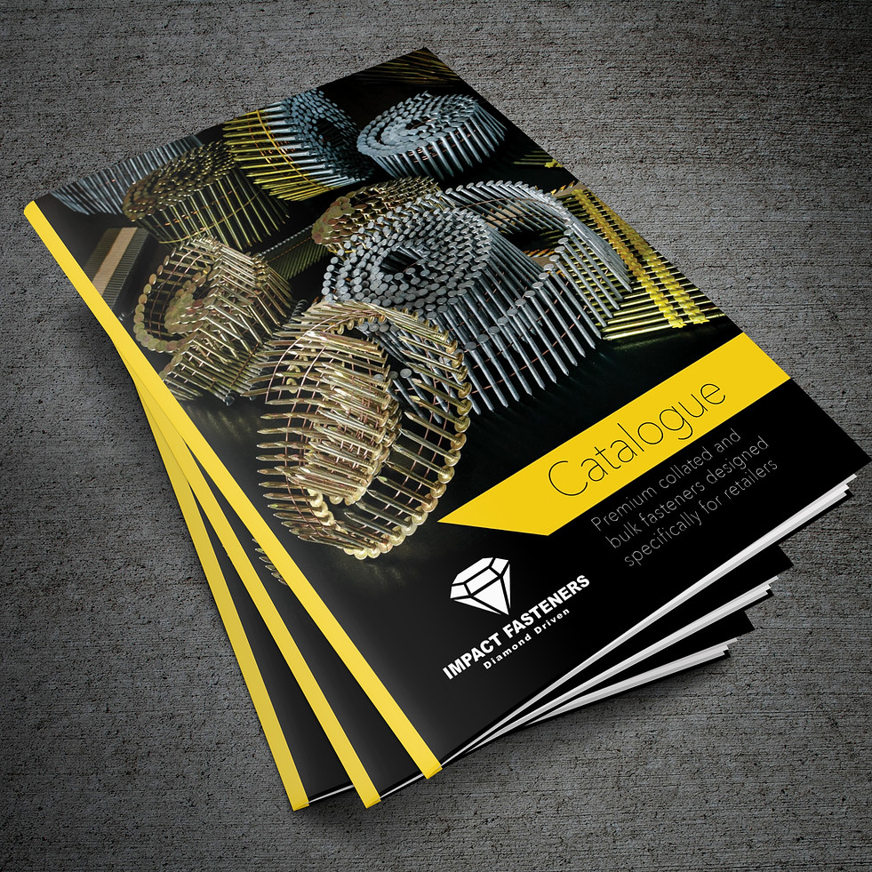 Product photography for the Impact Fasteners catalogue (over 80 items)