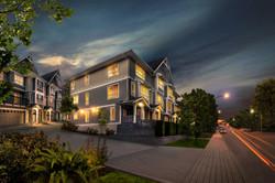 Vantage townhouse complex