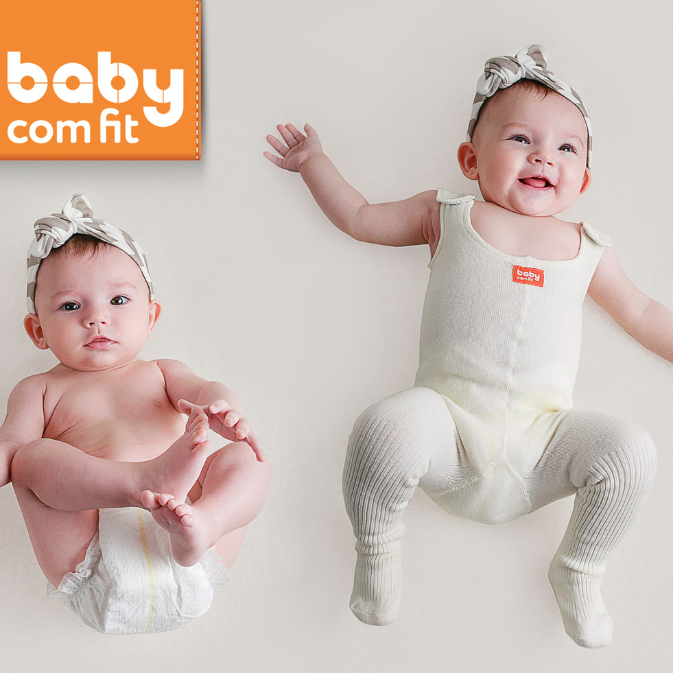 Product photographyfor the newcollection of improved pair of baby under-all pants.