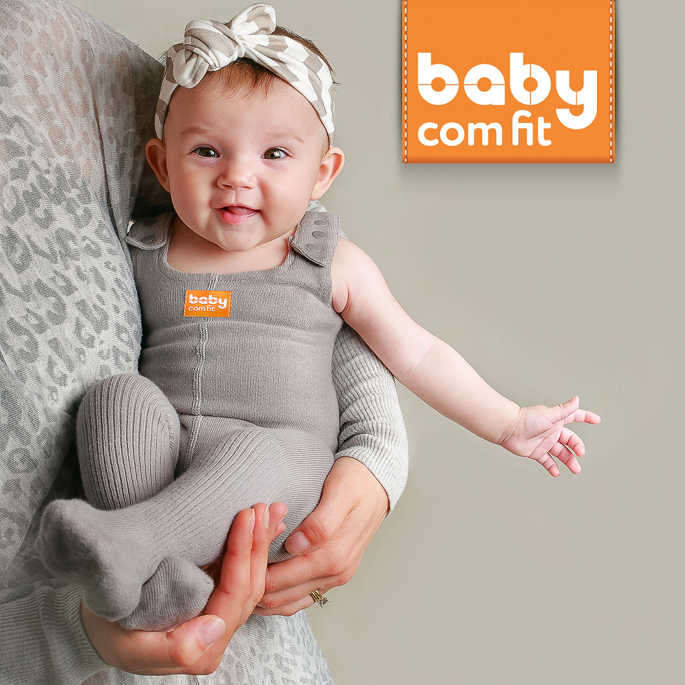 Product photography for the new collection of improved pair of baby under-all pants.