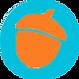 orange acorn blue dot.png