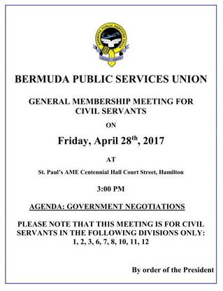 BPSU General Membership Meeting for Civil Servants