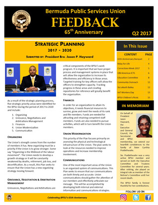 BPSU Feedback Newsletter Q2 2017