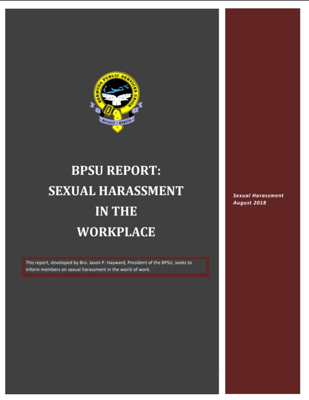 Sexual Harassment PP Cover