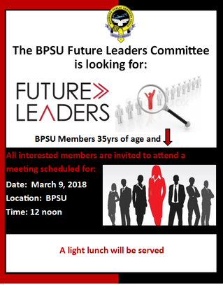 CALLING ALL MEMBERS AGE 35 AND UNDER