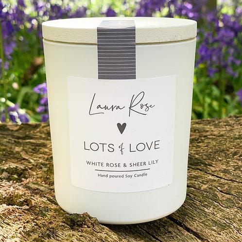 LOTS OF LOVE