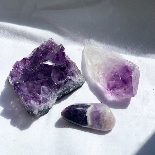 Amethyst Calm the Mind collection