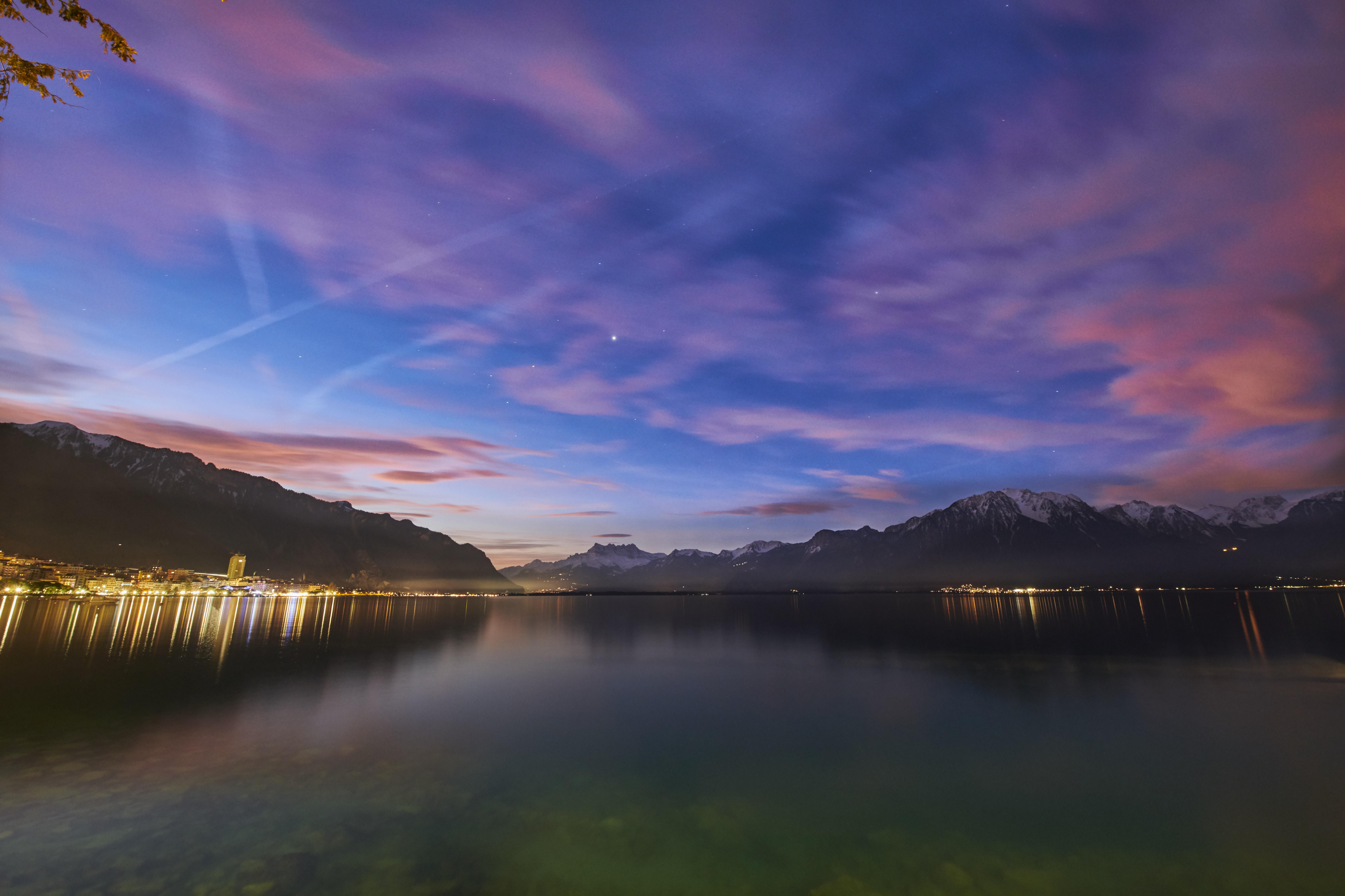 Lac Léman Montreux