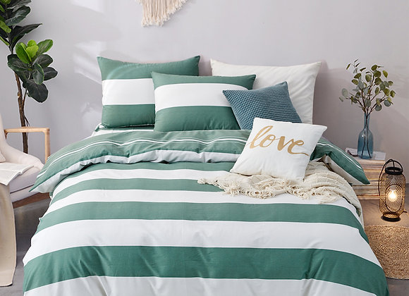 100% Cotton 900 thread count, Design 320 Fitted Bed Sheet Set