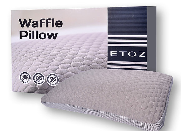 ETOZ Memory Foam Bamboo Charcoal Pillow (Extra Firm Pillow)- Memory Foam Pillow