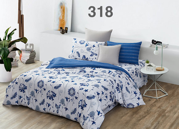 Quilt Cover Set (w/Fitted Bed Sheet) 318