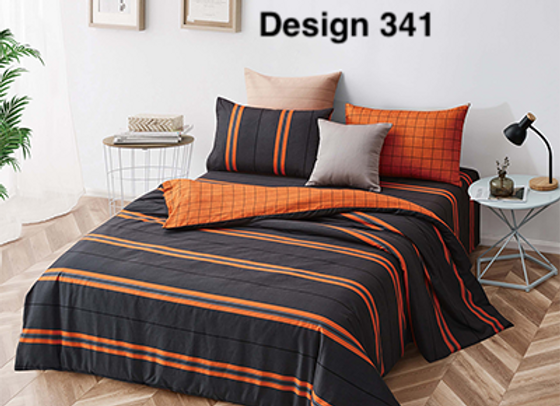 Cover Set (w/Fitted Bed Sheet) 341