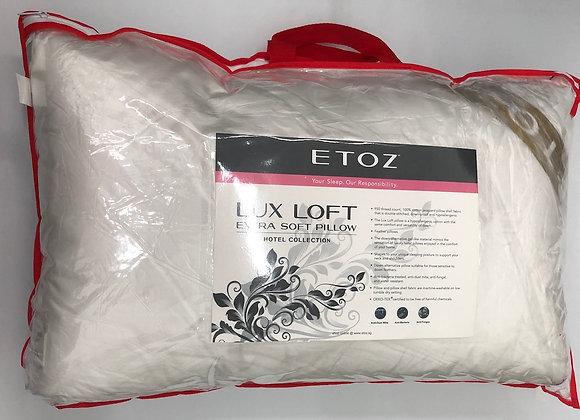1100gm Lux Loft Pillow- Down Feather Alternative Pillow - Washable Pillow