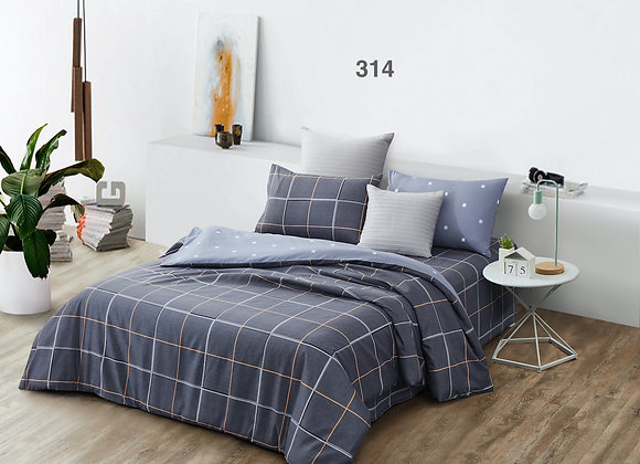 Quilt Cover Set (w/Fitted Bed Sheet) 314