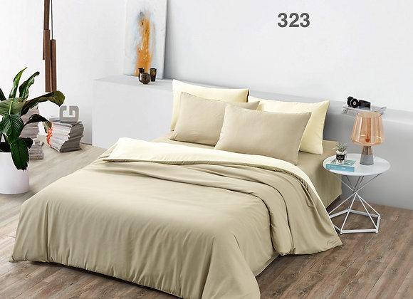 Comforter Set, Solid Colour 323 (2 tone colour)