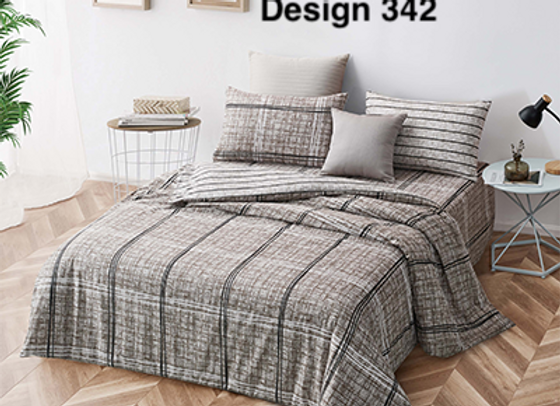 Fitted Bed Sheet Set 342