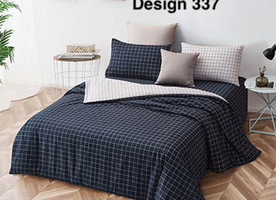 Cover Set (w/Fitted Bed Sheet) 337