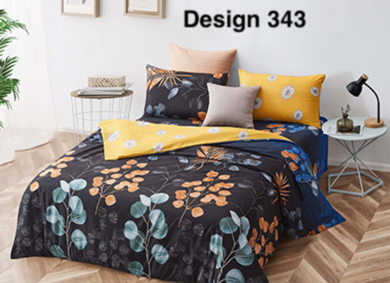 Fitted Bed Sheet Set 343