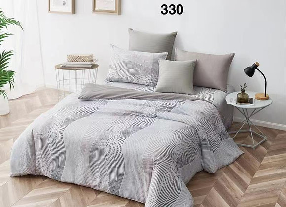 Quilt Cover Set (w/Fitted Bed Sheet) 330