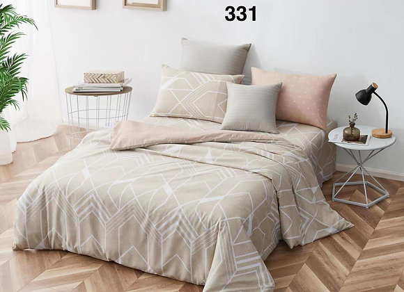 Quilt Cover Set (w/Fitted Bed Sheet) 331