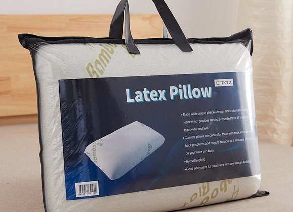 ETOZ Alternative Latex Pillow- Latex Feel Pillow- Anti Dust-mites Treated