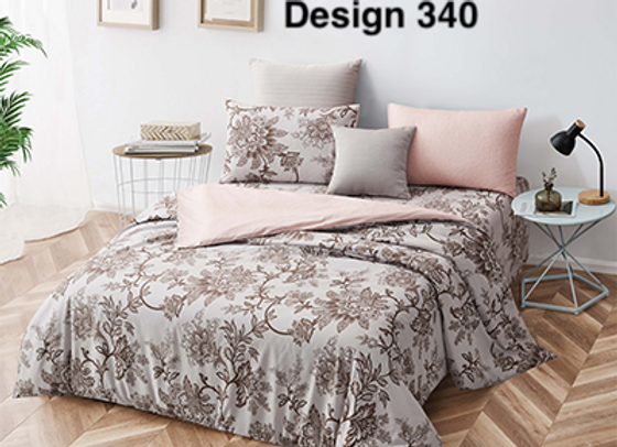 Cover Set (w/Fitted Bed Sheet) 340