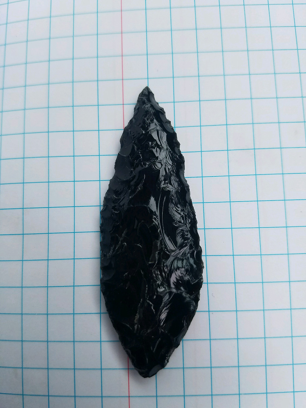 Obsidian Arrow Head Found in Napa California