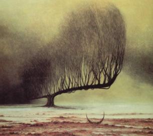 Piece of art mentioned above-Zdzisław Beksiński