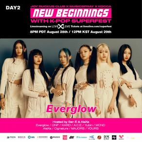 '글로벌 대세' 에버글로우, 29일 'New Beginnings with K-Pop Superfest' 온택트 공연..160개국 팬들 만난다