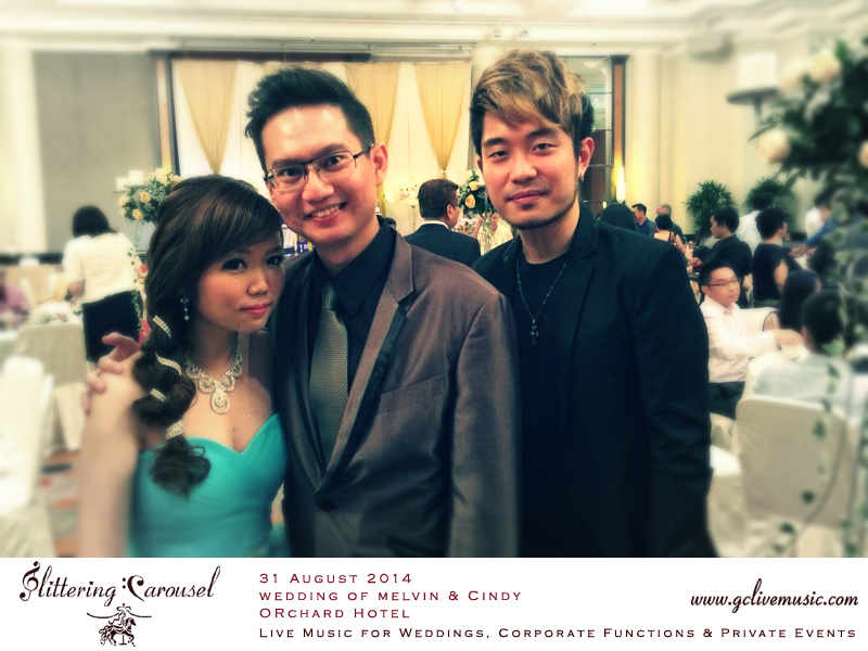 Wedding of Melvin & Cindy